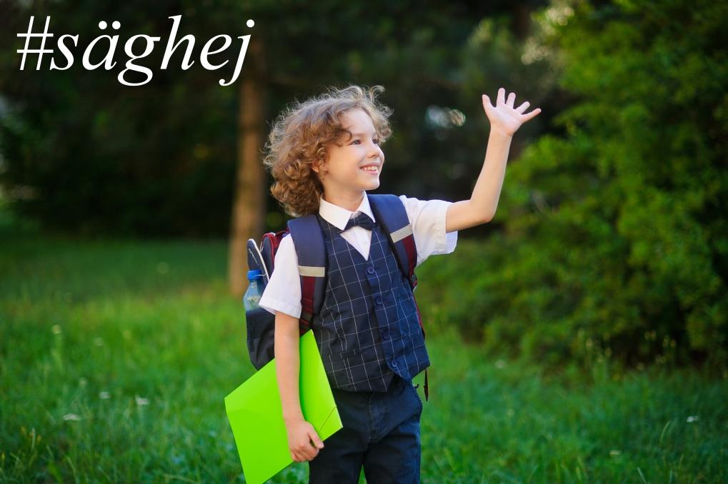#säghej - det kan innebära att du just gav någon annan en bra start på dagen!