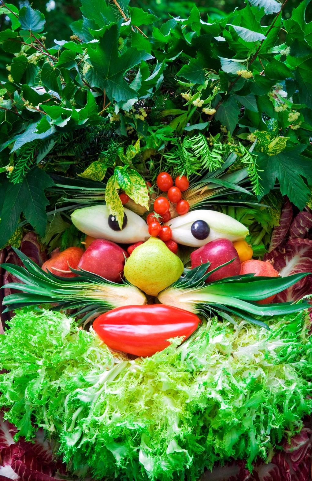Byt ut chipsen mot frukt och grönt - endast fantasin sätter gränser!