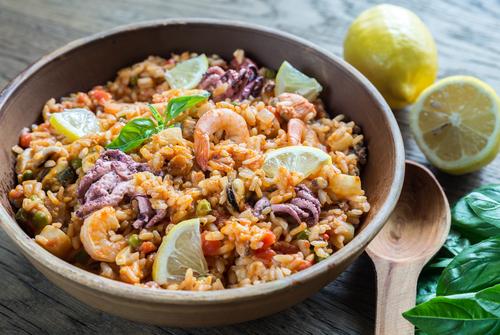 shutterstock_292118138 veckans recept thairisotto med räkor risotto matrecept asiatisk risotto