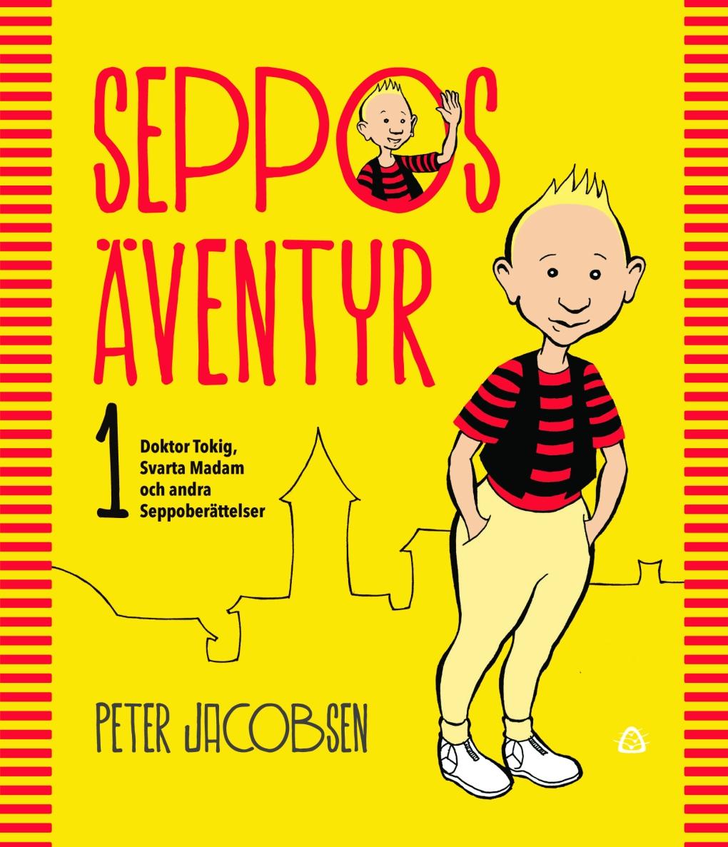 Omslag Seppos äventyr. Bildkälla: Förlagshuset Siljans Måsar