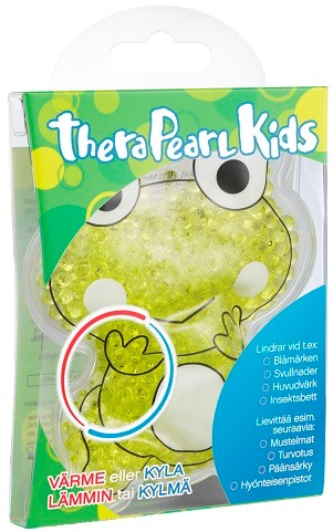 TheraPearl Kids groda värme kyla Bildkälla_Bausch_Lomb