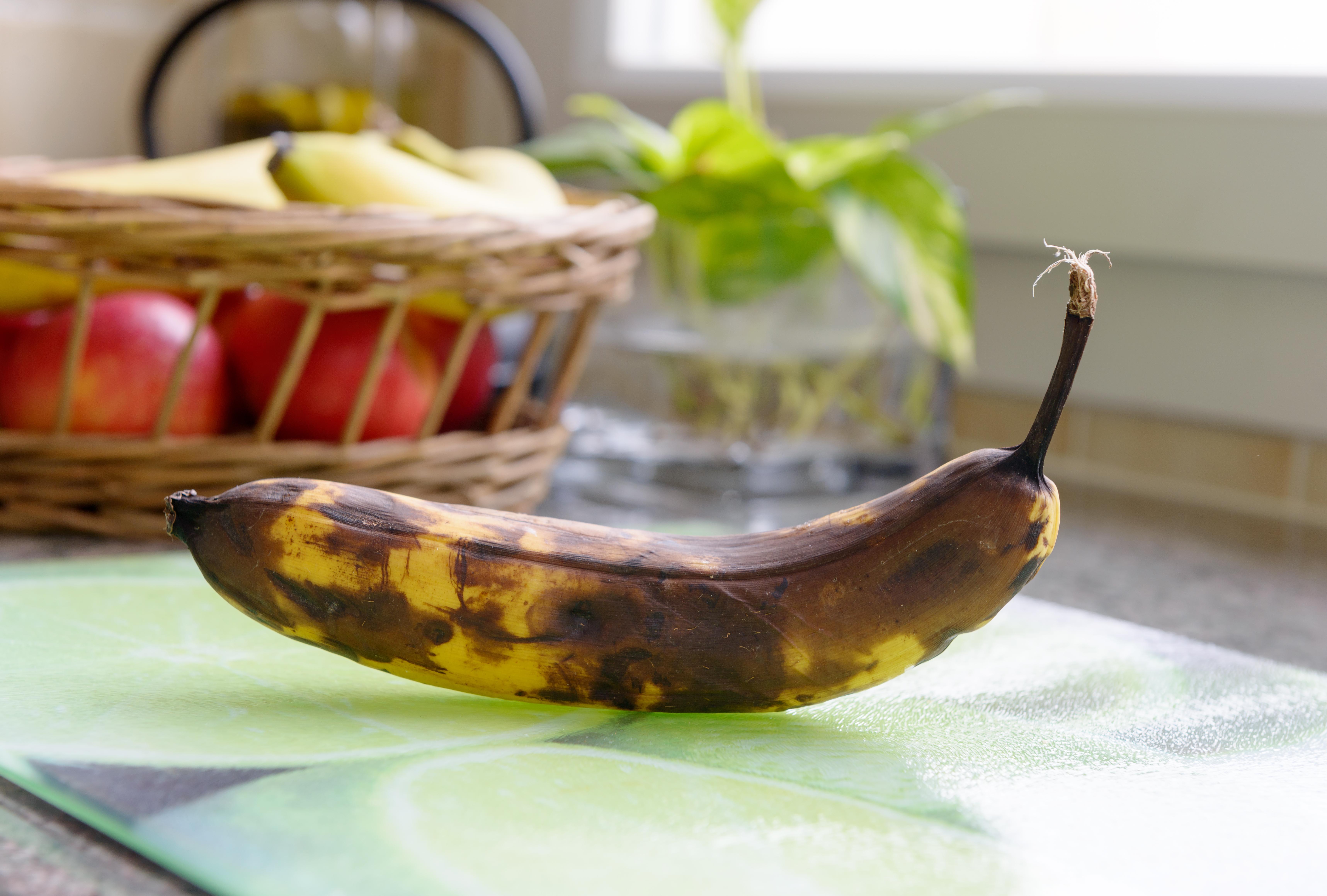 Jag koper aldrig grona bananer