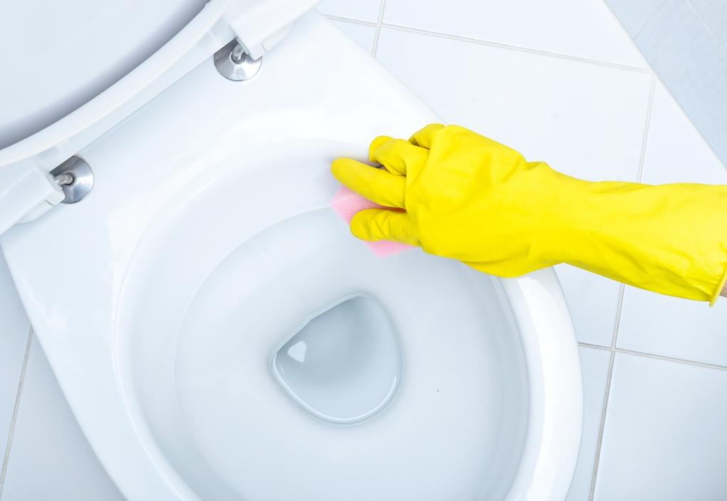 shutterstock_171475088 Toalett rengöra ättika bikarbonat citron